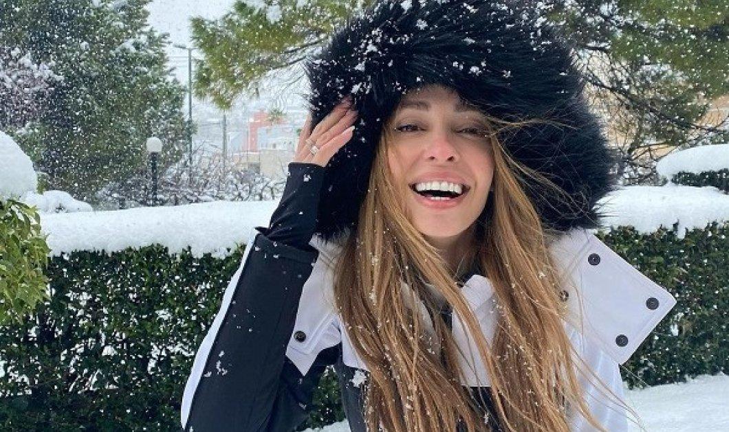 Ελένη Φουρέιρα: Βγήκε στο χιόνι και παρέδωσε μαθήματα στυλ - Η σικ εμφάνιση με φόρμα & γούνα στην κουκούλα (φωτό) - Κυρίως Φωτογραφία - Gallery - Video