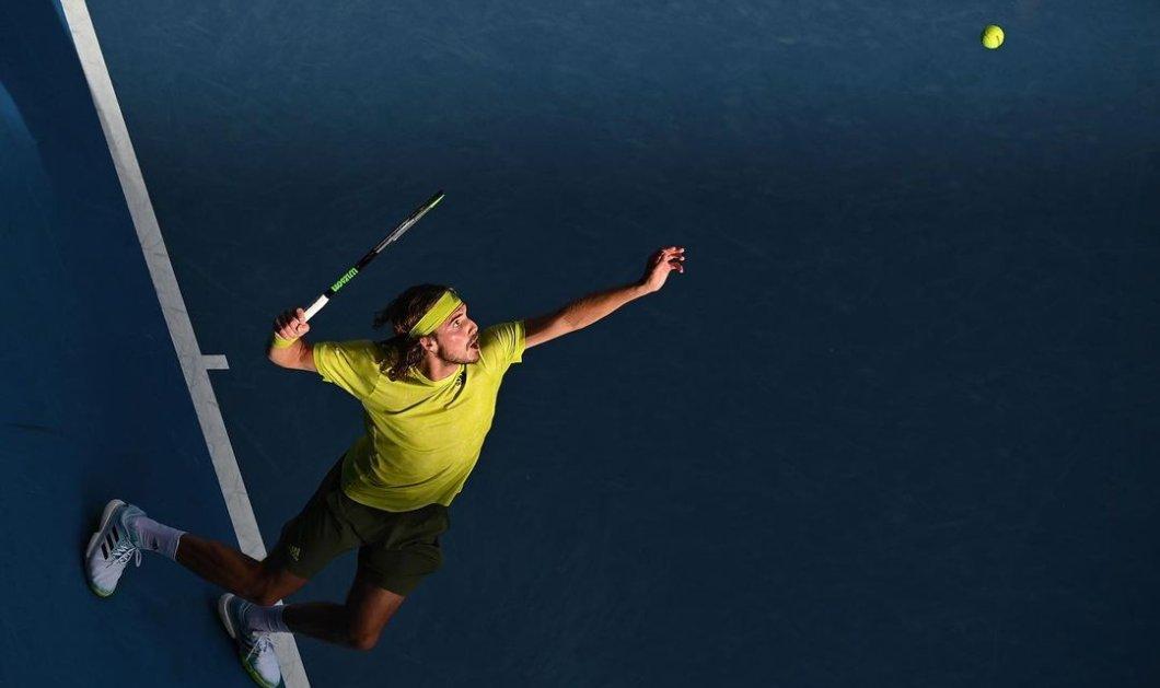 Australian Open: Δεν τα κατάφερε ο Τσιτσιπάς, ηττήθηκε από τον Μεντβέντεφ - Αποκλείστηκε από τον τελικό (φωτό - βίντεο) - Κυρίως Φωτογραφία - Gallery - Video