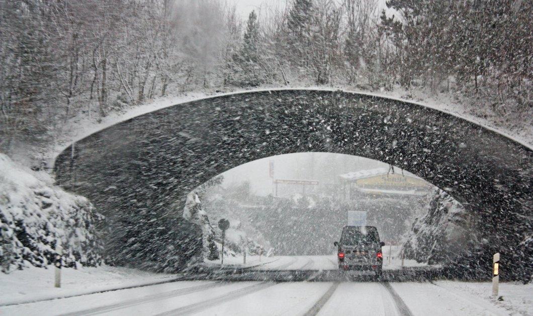 Έκτακτο Δελτίο Επικίνδυνων Καιρικών Φαινομένων: Ερχονται σφοδρές χιονοπτώσεις και «βουτιά» της θερμοκρασίας (βίντεο) - Κυρίως Φωτογραφία - Gallery - Video