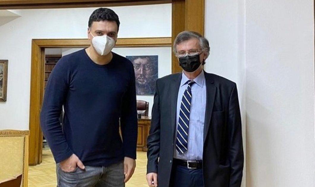 Ο Βασίλης Κικίλιας μαζί με τον Σωτήρη Τσιόδρα σε μια επετειακή φωτογραφία: «Ακριβώς 1 χρόνο πριν...» - Κυρίως Φωτογραφία - Gallery - Video