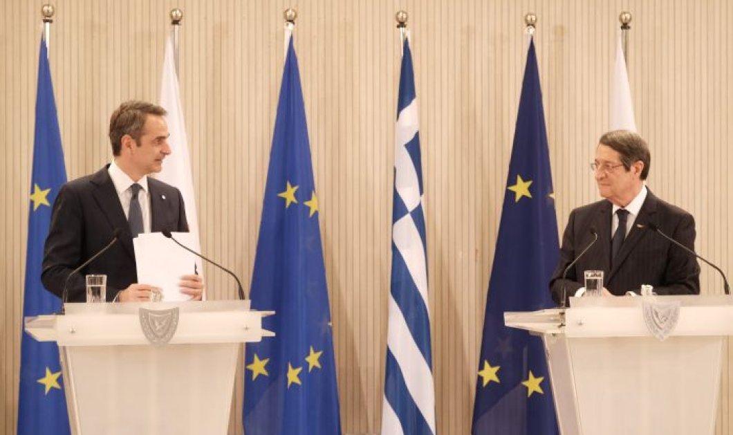 Κυρ. Μητσοτάκης από Κύπρο: Κορυφαία προτεραιότητα της ελληνικής εξωτερικής πολιτικής η εξεύρεση βιώσιμης λύσης στο Κυπριακό - Κυρίως Φωτογραφία - Gallery - Video
