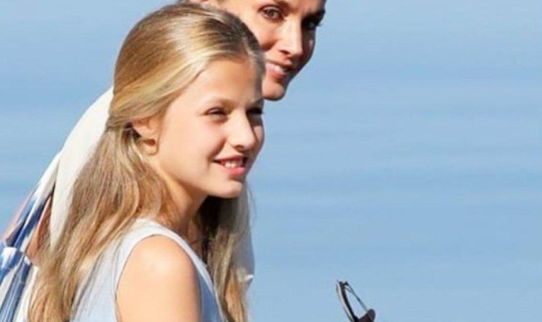 """Είναι επίσημο: Η Πριγκίπισσα Ελεονώρα της Ισπανίας θα """"ξενιτευτεί"""" - Ή όμορφη κόρη της βασίλισσας Λετίσια θα συνεχίσει τις σπουδές της στην Ουαλία (φώτο) - Κυρίως Φωτογραφία - Gallery - Video"""