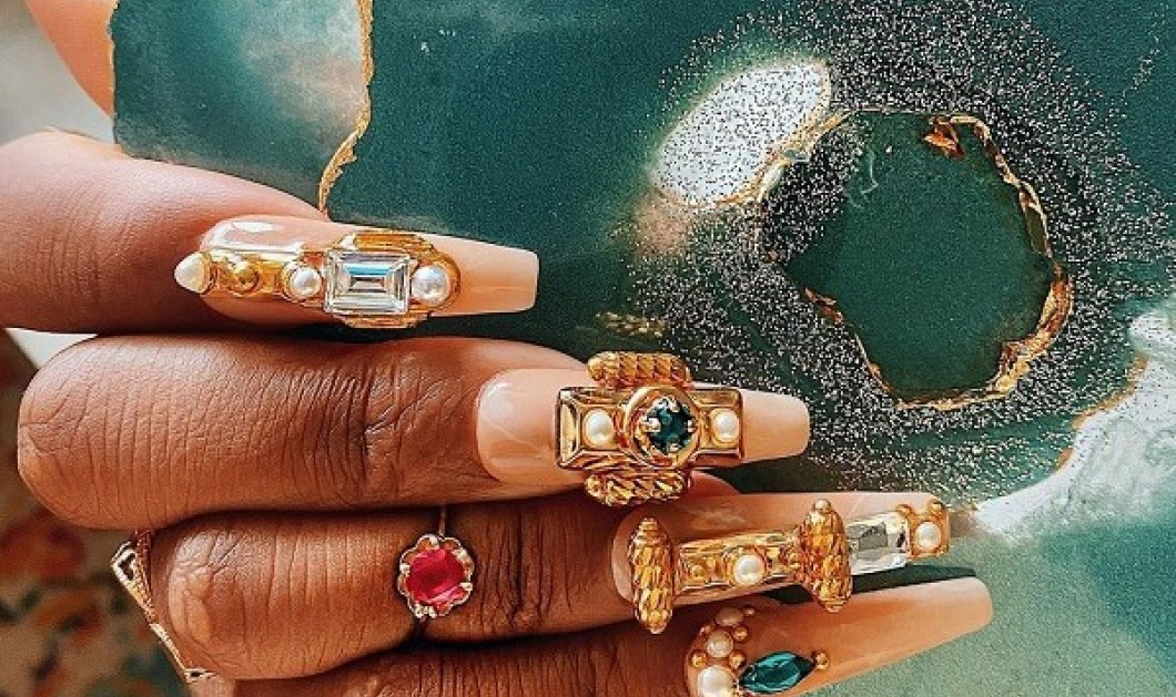 Εξτραβαγκάντ νύχια, 3D σχέδια, μεταλλικά μανό: Nail artists δείχνουν την τέχνη τους και τα trends της Άνοιξης (φωτό) - Κυρίως Φωτογραφία - Gallery - Video