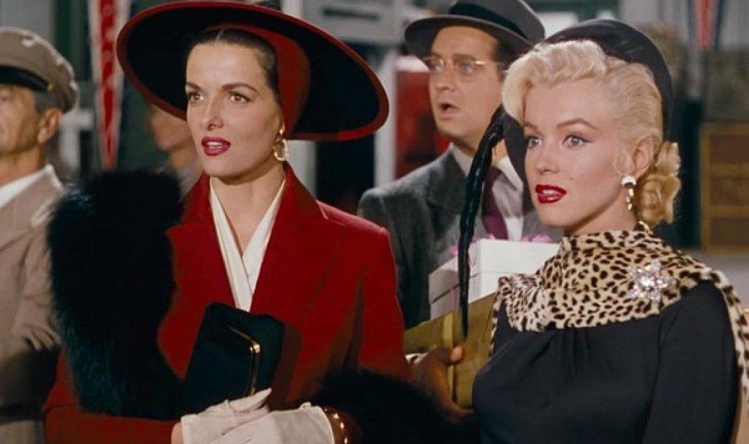 Αυτές ήταν σταρ! Τα απίθανα σύνολα που φόρεσαν η Marilyn Monroe & η Jane Russell στο οι  Άντρες Προτιμούν τις Ξανθιές (βίντεο) - Κυρίως Φωτογραφία - Gallery - Video