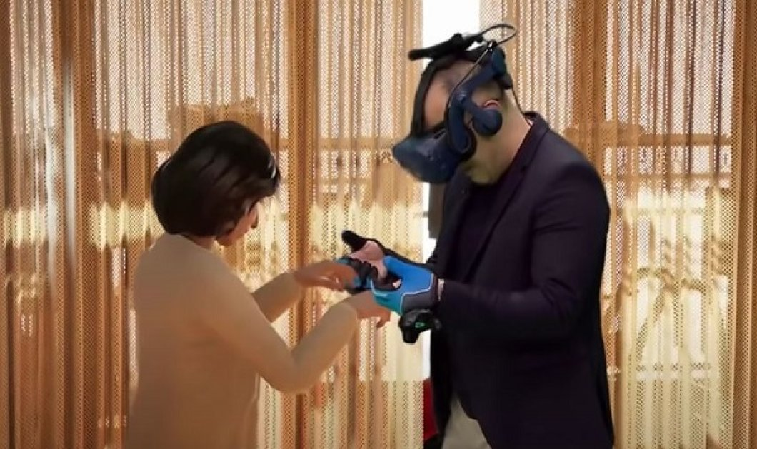 Συγκινητικό βίντεο: 51χρονος βάζει γυαλιά VR και βλέπει ξανά τη νεκρή γυναίκα του - Ξέσπασε σε κλάματα - Κυρίως Φωτογραφία - Gallery - Video