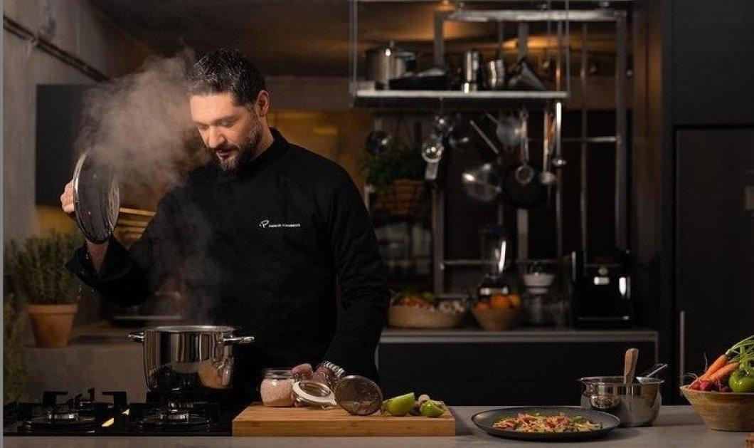 Μπράβο στον Πάνο Ιωαννίδη: Ο γοητευτικός κριτής του Master Chef στηρίζει τα νέα παιδιά με όραμα & μας συστήνει τον Παύλο - Γράφει ιστορία στο πιο ωραίο κουρείο της Αθήνας (φώτο -βίντεο) - Κυρίως Φωτογραφία - Gallery - Video