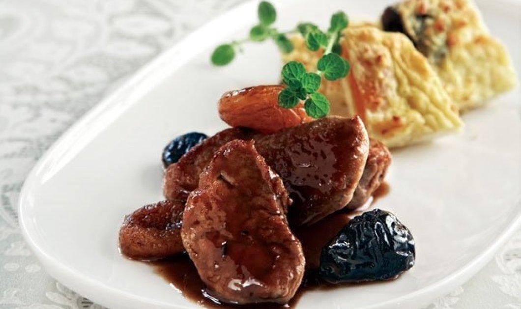 Η Αργυρώ Μπαρμπαρίγου παρουσιάζει μια σούπερ συνταγή - Χοιρινό γλασαρισµένο και πουρές ογκρατέν µε κρέµα τυριού - Κυρίως Φωτογραφία - Gallery - Video