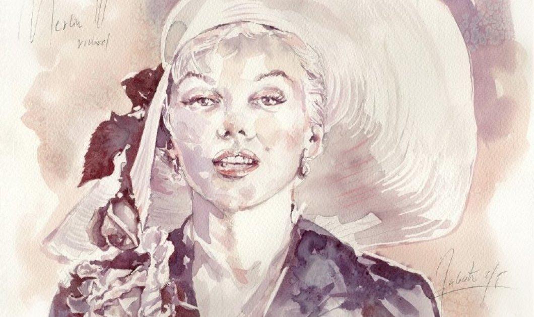Drunk on Art: Καλλιτέχνης δημιουργεί ευφάνταστους πίνακες με κύριο υλικό το κρασί - Από την Μέριλιν Μονρόε έως την Μόνα Λίζα (φωτό) - Κυρίως Φωτογραφία - Gallery - Video