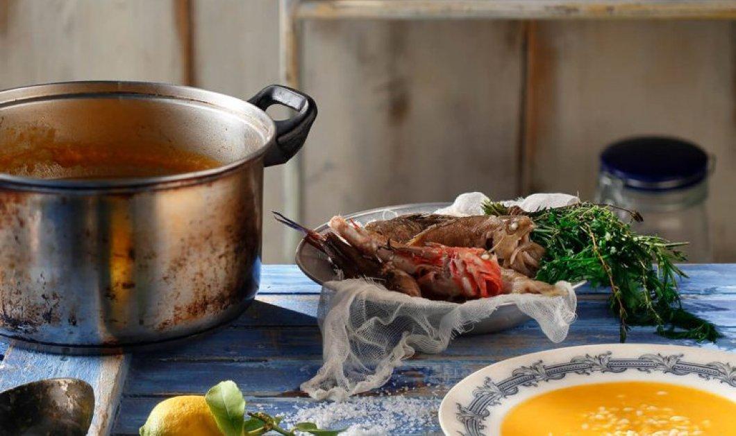 Η Αργυρώ Μπαρμπαρίγου μαγειρεύει ένα ζεστό πιάτο για σήμερα: Ψαρόσουπα παραδοσιακή & χειμωνιάτικη  - Κυρίως Φωτογραφία - Gallery - Video