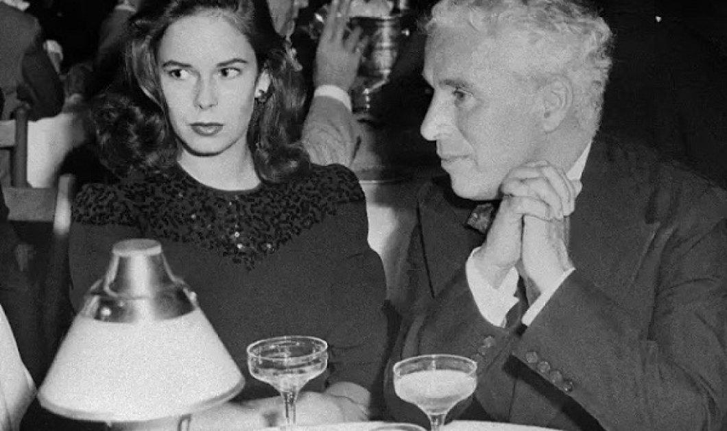 Vintage pics: Ο Charlie Chaplin με την 4η και τελευταία σύζυγό του, την Oona O'Neill - Ήταν 36 χρόνια νεότερη του - Κυρίως Φωτογραφία - Gallery - Video