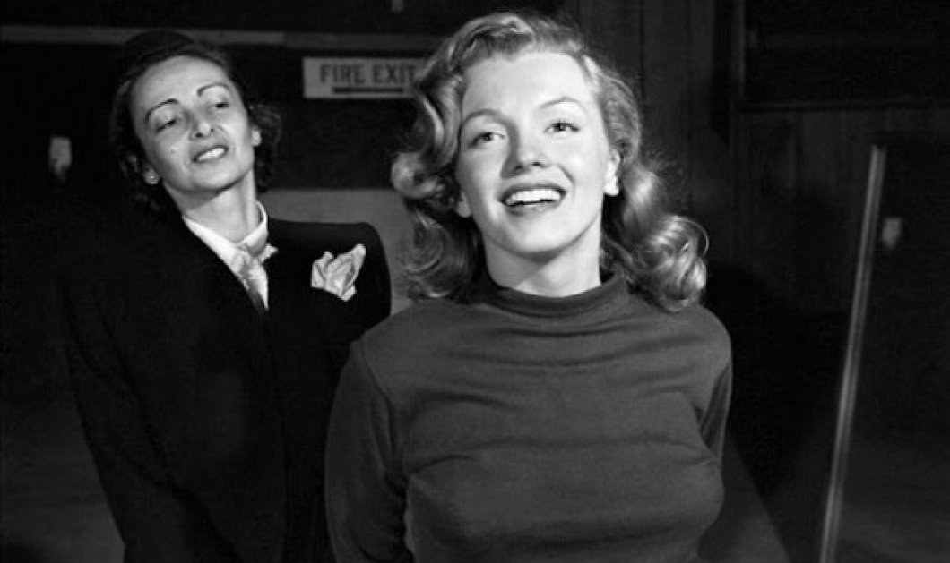 Vintage pics: Η Marilyn Monroe σε μάθημα υποκριτικής το 1948 - Με την δασκάλα θεάτρου Natasha Lytess - Κυρίως Φωτογραφία - Gallery - Video
