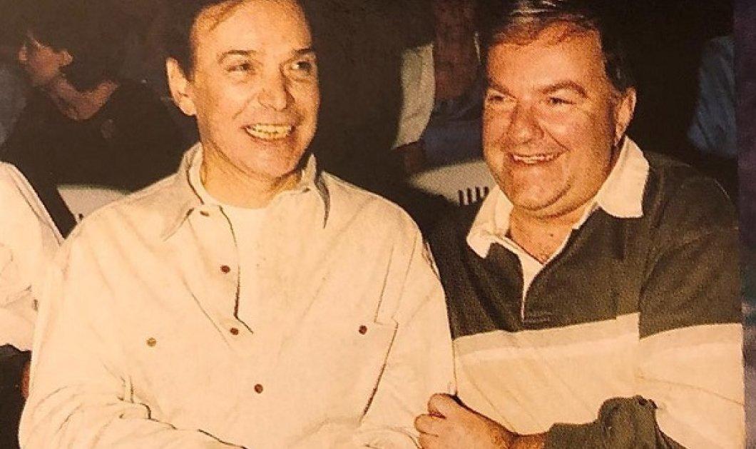 Συγκινητική vintage φωτό: Ο Γιώργος Μαρίνος και ο Μιχάλης Ασλάνης στις δόξες τους - Κυρίως Φωτογραφία - Gallery - Video