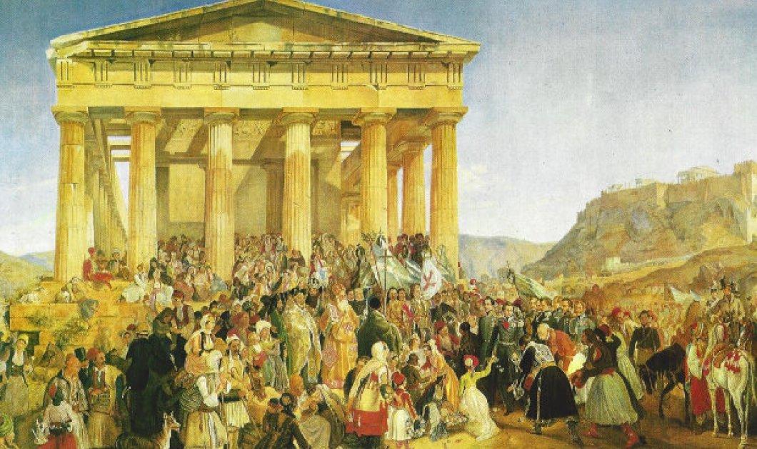 Ο πρώτος εορτασμός της 25ης Μαρτίου το 1838 : Οι κανονιοβολισμοί  το γλέντι μέχρι πρωίας & ο φωτεινός σταυρός που εντυπωσίασε τους Αθηναίους  - Κυρίως Φωτογραφία - Gallery - Video