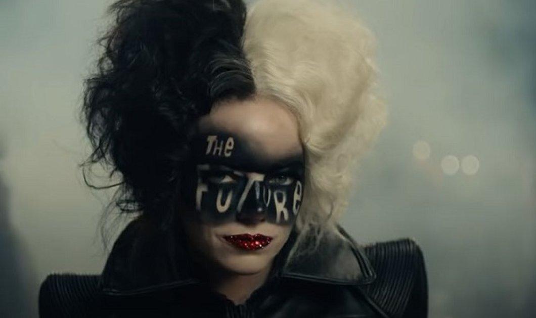 Η Emma Stone γίνεται Cruella De Vil: Δείτε το τρέιλερ της νέας ταινίας της Disney - Η «κόρη του χάρου» έχει στυλ!  - Κυρίως Φωτογραφία - Gallery - Video