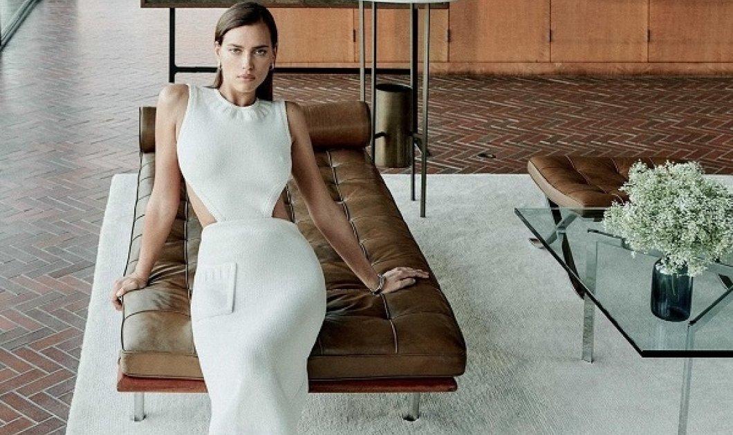 Η Irina Shayk στο εξώφυλλο του Elle με απίθανα outfits: Μίλησε για τον πρώην της Bradley Cooper και την κοινή ανατροφή της κόρης τους (φωτό) - Κυρίως Φωτογραφία - Gallery - Video