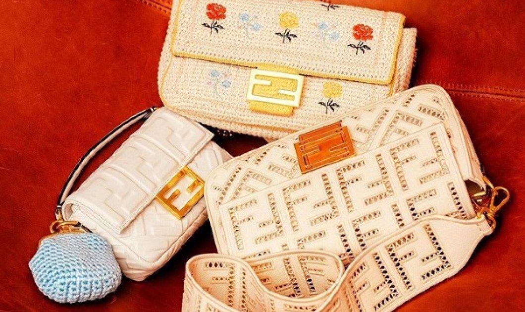 Οι ανοιξιάτικες τσάντες του Fendi: Μεταλλικά clutches σαν βιβλία και η θρυλική Baguette bag (φωτό & βίντεο) - Κυρίως Φωτογραφία - Gallery - Video