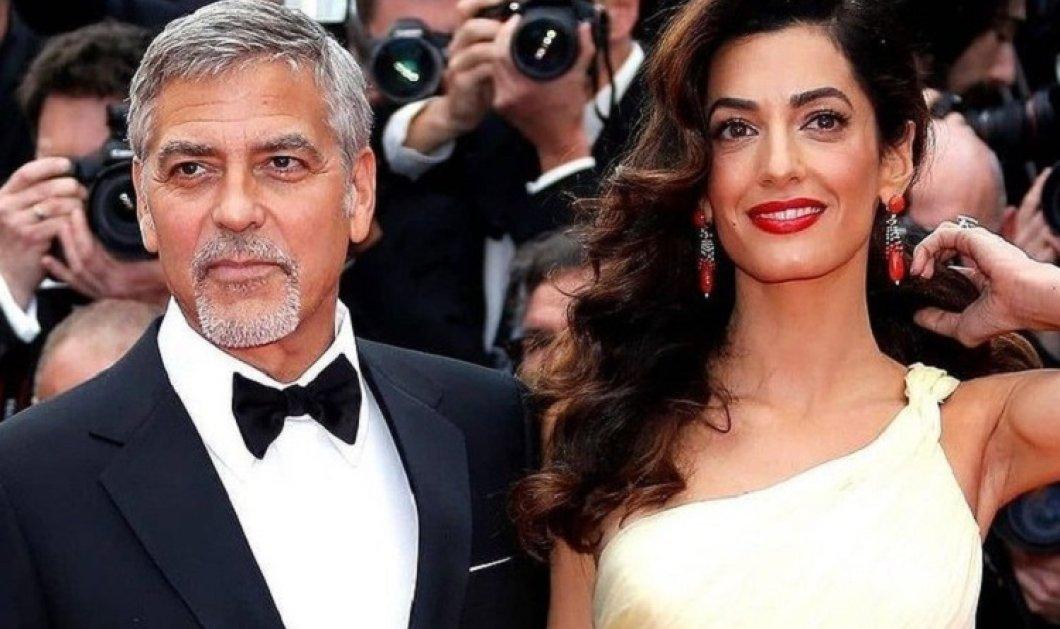 """Ο George Clooney αποκαλύπτει τις αταξίες που κάνει με τα παιδιά του - """"Μου αρέσει να σοκάρω την Αμάλ με τρομερά πράγματα"""" (φώτο-βίντεο) - Κυρίως Φωτογραφία - Gallery - Video"""