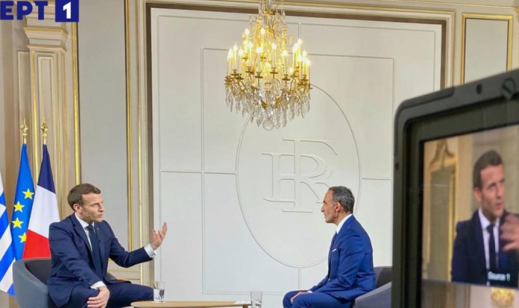 Νίκος Αλιάγας: Και επίσημα στην ΕΡΤ – Πρώτη του συνέντευξη με τον Εμανουέλ Μακρόν (φωτό - βίντεο) - Κυρίως Φωτογραφία - Gallery - Video