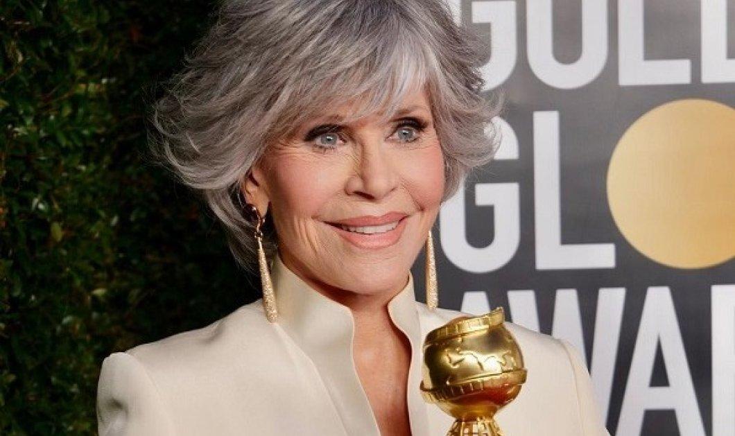 Τιμητικό βραβείο στην Jane Fonda: Ο λόγος της από την σκηνή των Golden Globes και το δυνατό μήνυμα που έστειλε (φωτό & βίντεο) - Κυρίως Φωτογραφία - Gallery - Video