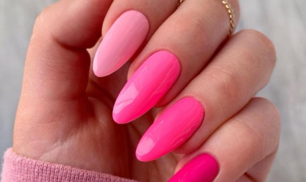 Pink nails: 34 ιδέες για εντυπωσιακό μανικιούρ με το top χρώμα της σεζόν - Απλά και μίνιμαλ σχέδια   - Κυρίως Φωτογραφία - Gallery - Video