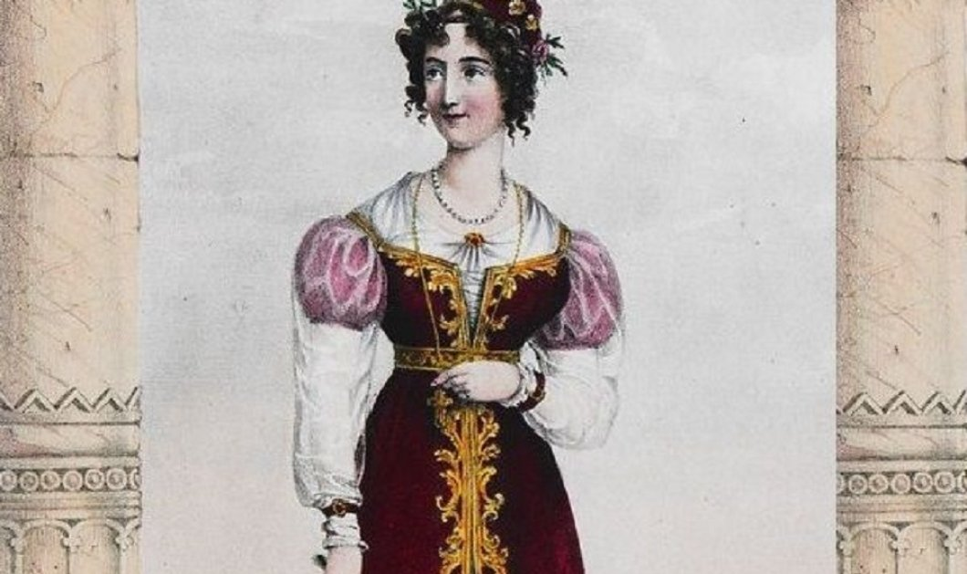 """Ιάκωβος Γκόγκουα:  Οι ρουτίνες ομορφιάς στην εποχή του 1800 - Η Μπουμπουλίνα η Μαντώ & οι 'beaute"""" συνήθειες τους   - Κυρίως Φωτογραφία - Gallery - Video"""