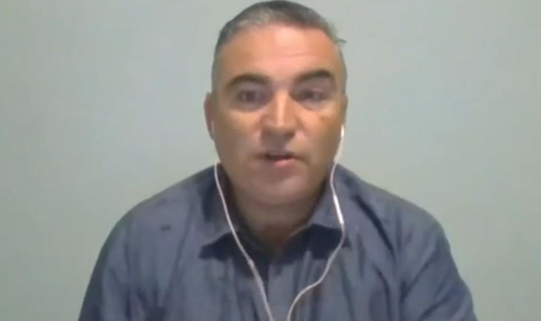 Περαστικά στον συνάδελφο Γιάννη Ντσούνο του ΣΚΑΙ που έχει κορωνοϊό  - Κόλλησαν η 9 μηνών κόρη του & ο 3,5 ετών γιος του (βίντεο)  - Κυρίως Φωτογραφία - Gallery - Video