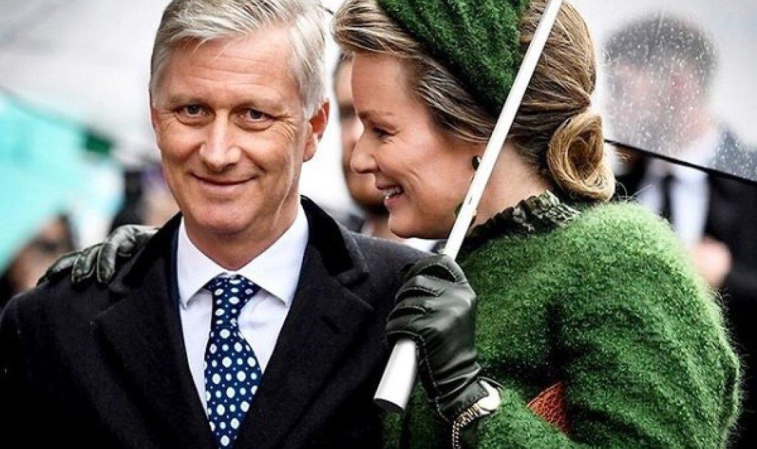 Μες τα πράσινα η βασίλισσα Ματθίλδη του Βελγίου - Το  χρώμα που της πηγαίνει περισσότερο, του δίνει και καταλαβαίνει… (φωτό) - Κυρίως Φωτογραφία - Gallery - Video