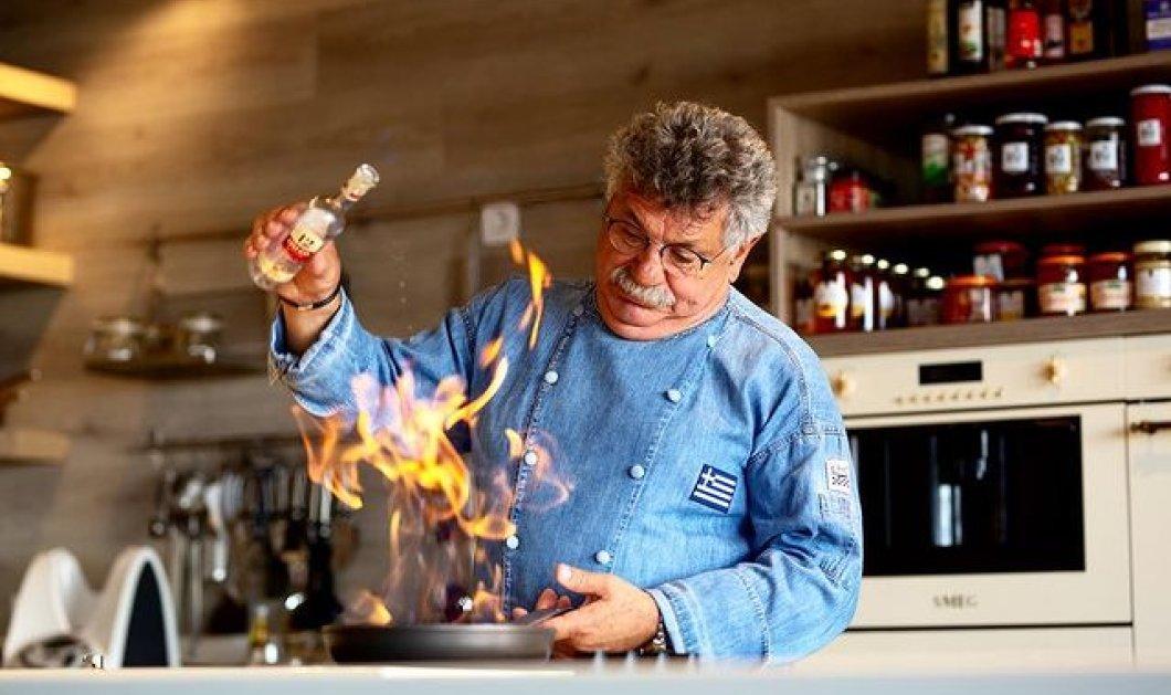 Ο Λευτέρης Λαζάρου αναλαμβάνει το επίσημο δείπνο στο Προεδρικό Μέγαρο για την 25η Μαρτίου - 45 πιάτα περιλαμβάνει το μενού! - Κυρίως Φωτογραφία - Gallery - Video