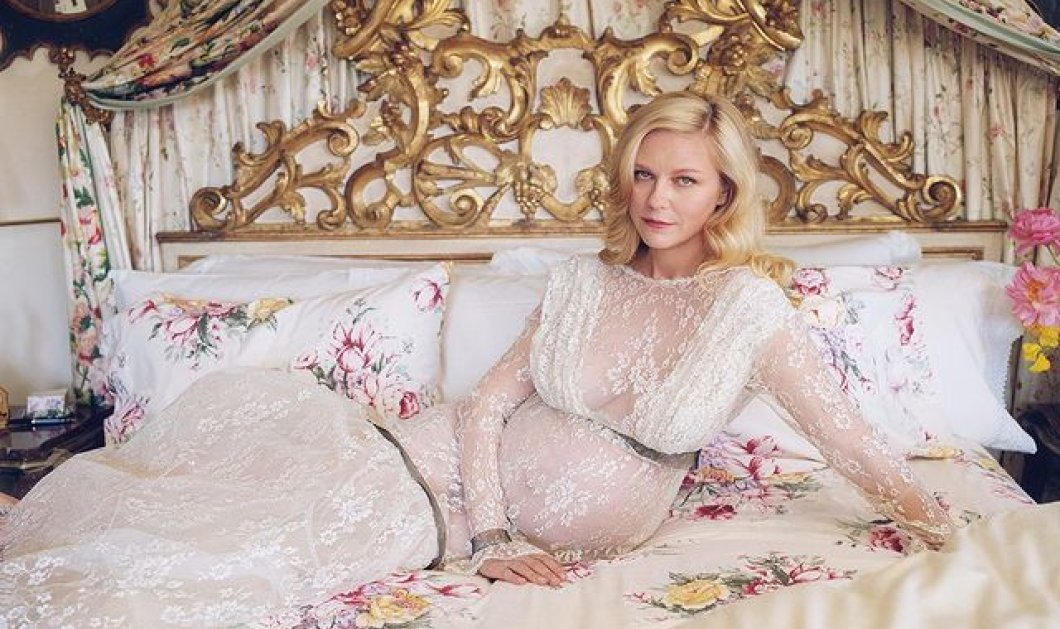 Η Kirsten Dunst είναι έγκυος στο 2ο της παιδί: Το αποκάλυψε στο W Magazine - Η φωτογράφηση με την απίθανη λευκή τουαλέτα (φωτό) - Κυρίως Φωτογραφία - Gallery - Video