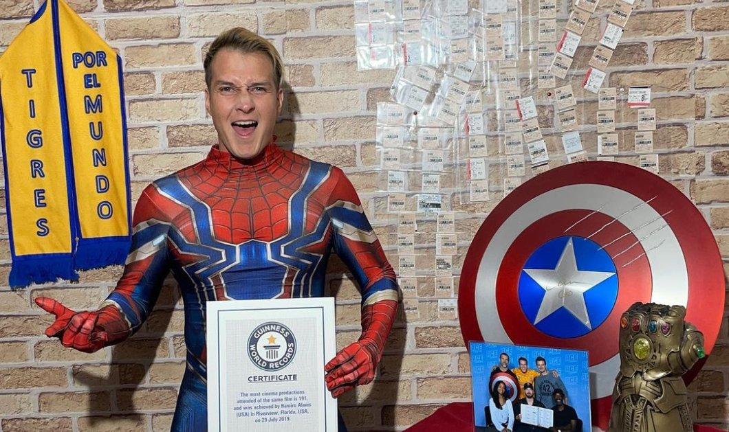 Story of the day: Aπίστευτος τύπος είδε το «Avengers: Endgame» 191 φορές  - Κατέρριψε Ρεκόρ Γκίνες (φωτό) - Κυρίως Φωτογραφία - Gallery - Video