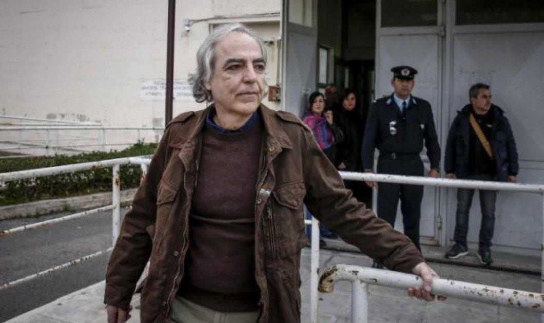 Ο Δημήτρης Κουφοντίνας σταματά την απεργία πείνας - Η δήλωσή του από την ΜΕΘ του Νοσοκομείου Λαμίας (βίντεο) - Κυρίως Φωτογραφία - Gallery - Video