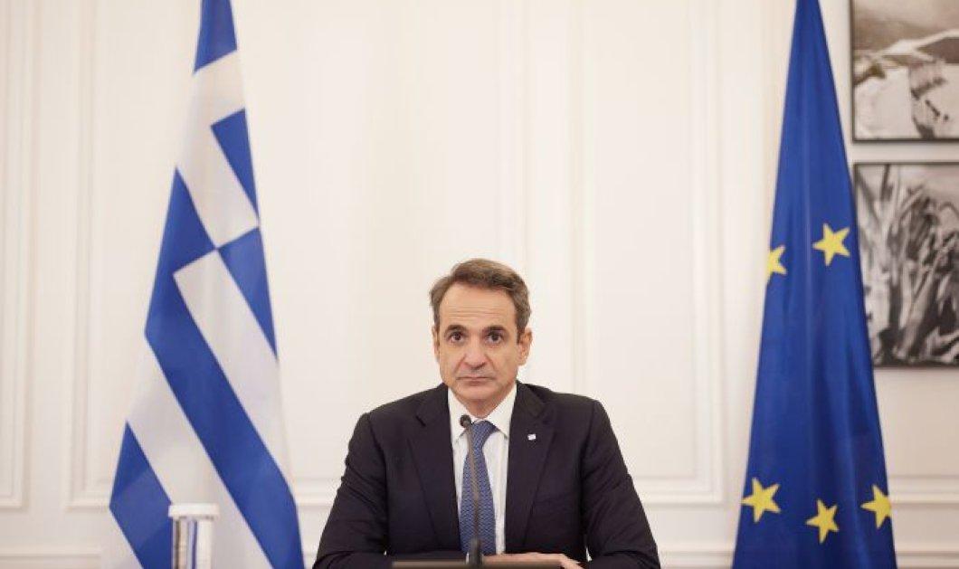 Κυρ. Μητσοτάκης: Ελλάδα και ΗΠΑ, στρατηγικοί εταίροι για την ασφάλεια και την ευημερία στην Αν. Μεσόγειο - Κυρίως Φωτογραφία - Gallery - Video