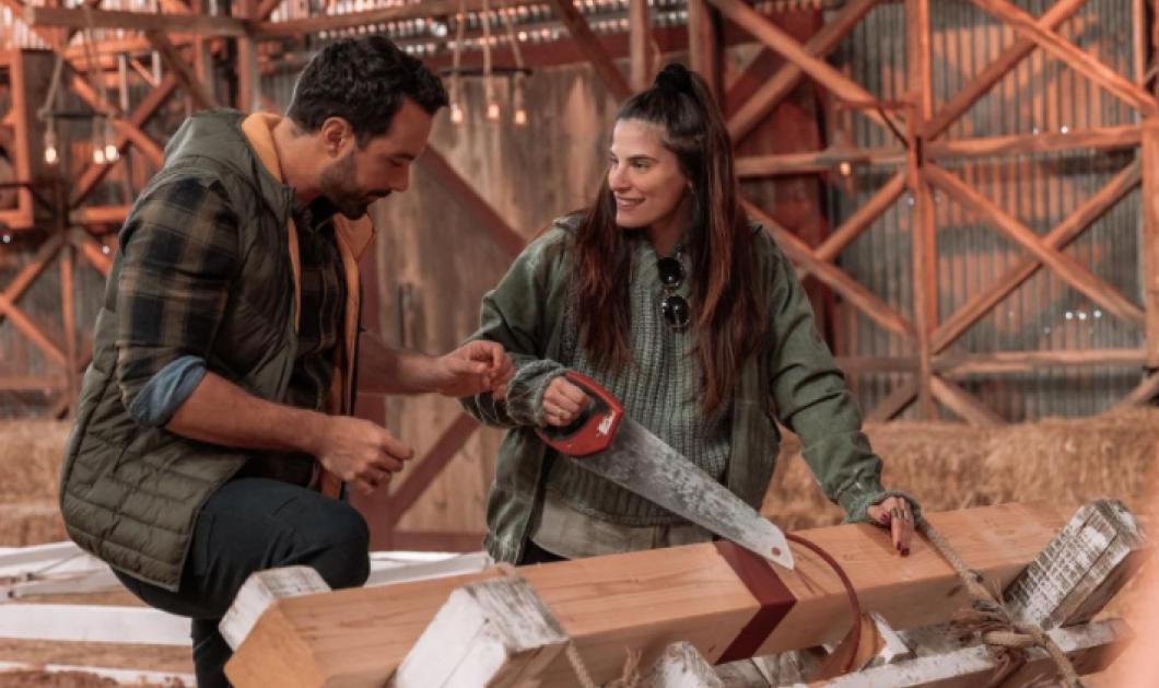 Η εγκυμονούσα Χριστίνα Μπόμπα στα γυρίσματα της ''Φάρμας'' - Οι τρεις γυναίκες του Σάκη Τανιμανίδη τον επισκέφθηκαν στην δουλειά (φωτό)  - Κυρίως Φωτογραφία - Gallery - Video