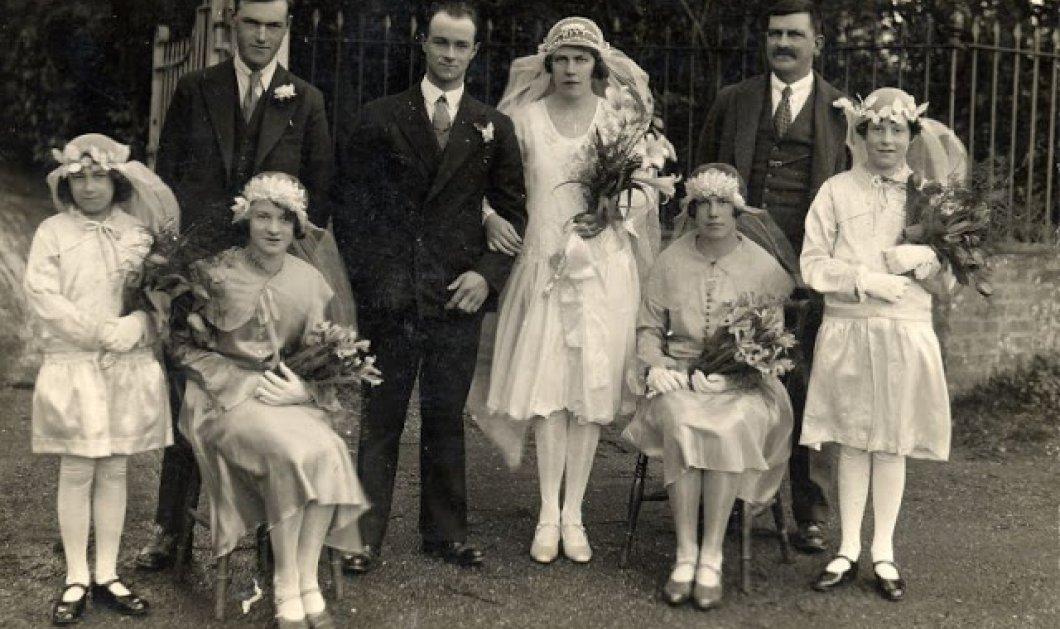 Οι νύφες της δεκαετίας του 30: Καπέλα, λουλούδια και φορέματα από ρεγιόν - Τι επέλεγαν οι γυναίκες για τον γάμο τους (φωτό) - Κυρίως Φωτογραφία - Gallery - Video