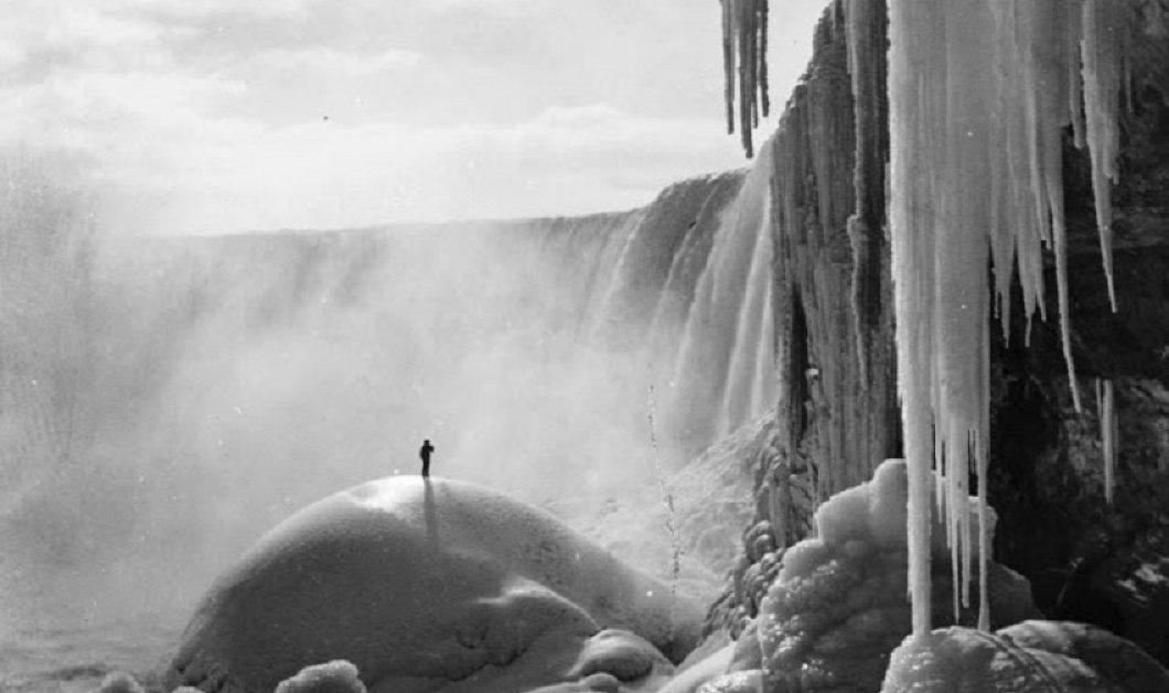 Συναρπαστικές vintage pics: Ένα μαγευτικό φωτογραφικό ταξίδι στους παγωμένους καταρράκτες του Νιαγάρα των αρχών του αιώνα  - Κυρίως Φωτογραφία - Gallery - Video