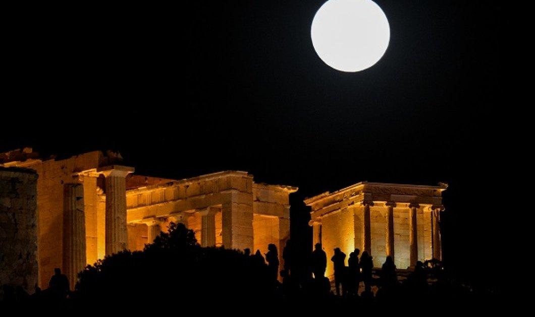 Μοναδικό θέαμα! Η πρώτη υπέρ-πανσέληνος του 2021 - Απόψε και αύριο το «Ροζ Φεγγάρι» φωτίζει τον ουρανό - Κυρίως Φωτογραφία - Gallery - Video