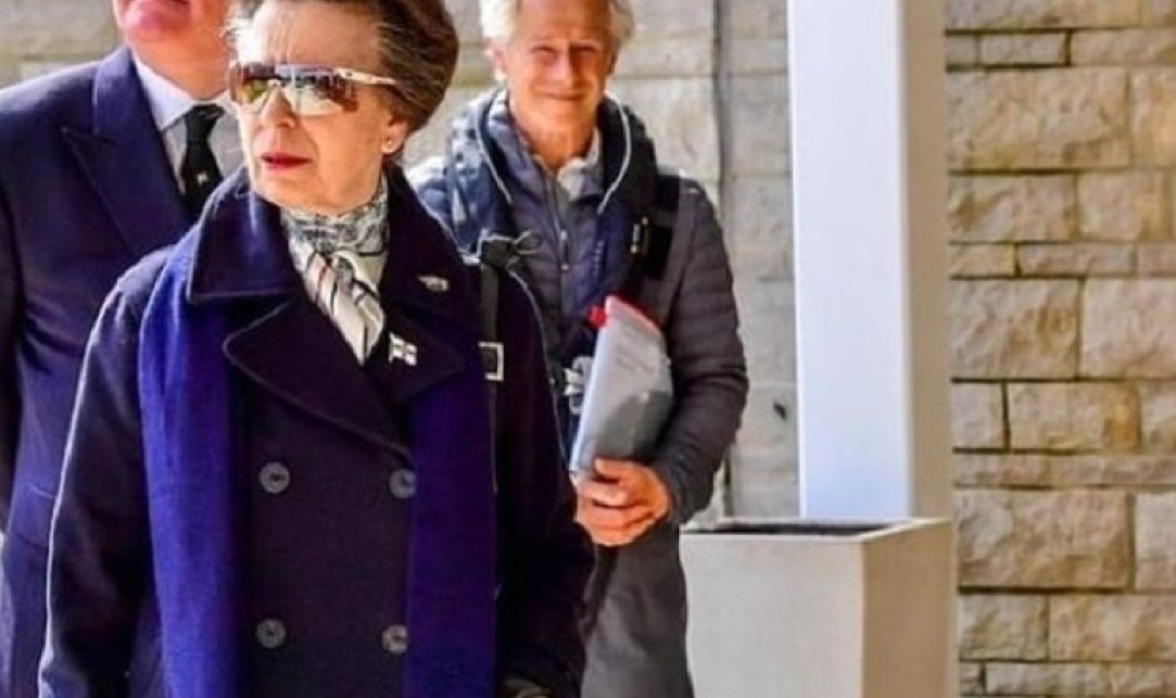 Με μπλε σκούρο outfit η Πριγκίπισσα Άννα στην πρώτη επίσημη έξοδο μετά το θάνατο του πατέρα της Φίλιππου - Φανερά καταβεβλημένη  (φώτο) - Κυρίως Φωτογραφία - Gallery - Video