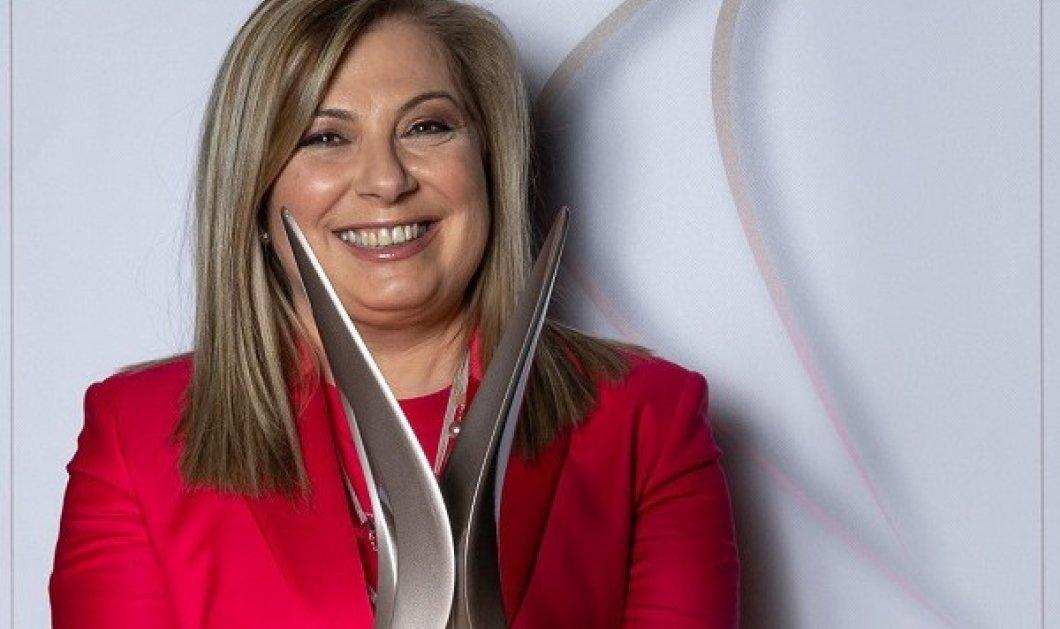 Συγχαρητήρια στην πολυαγαπημένη σεφ Ντίνα Νικολάου: Της απονεμήθηκε το Greek International Women Award στην κατηγορία Hospitality (φωτό & βίντεο) - Κυρίως Φωτογραφία - Gallery - Video