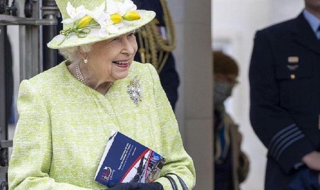 Η πρώτη επίσημη εμφάνιση της βασίλισσας Ελισάβετ για το 2021 - Με λαχανί σύνολο η μακροβιότερη μονάρχης του κόσμου (φώτο-βίντεο) - Κυρίως Φωτογραφία - Gallery - Video