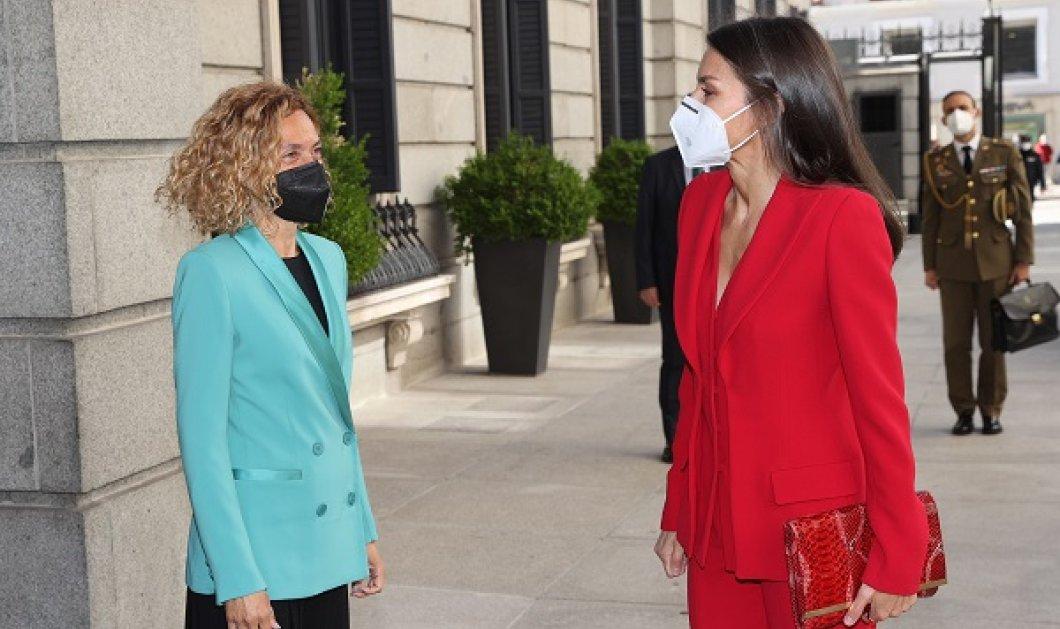 Φωτιά στα κόκκινα η βασίλισσα Λετίσια της Ισπανίας: Έφτασε στο Κογκρέσο αλλά… κάποιοι «έσπασαν» το πρωτόκολλο (φωτό & βίντεο) - Κυρίως Φωτογραφία - Gallery - Video