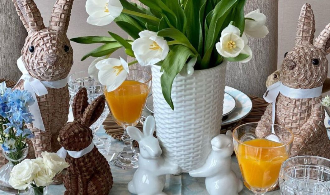 Tres Chic! Μένουμε σπίτι & παίρνουμε ιδέες για πασχαλινή διακόσμηση - Θα φέρει την άνοιξη & τη χαρά στο σπίτι μας (φώτο) - Κυρίως Φωτογραφία - Gallery - Video