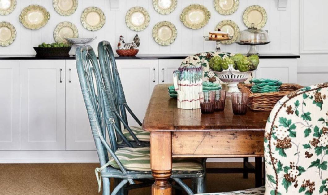 Σπύρος Σούλης: Θέλετε vintage κουζίνα; Φτιάξτε τη με αυτούς τους 10 τρόπους! (φωτό) - Κυρίως Φωτογραφία - Gallery - Video