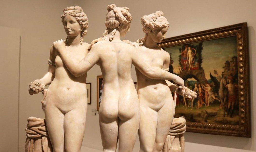 Οι Τρεις Χάριτες της μυθολογίας: Oι θεότητες της χάρης & της ομορφιάς - Ποια ήταν τα ταλέντα τους;  - Κυρίως Φωτογραφία - Gallery - Video
