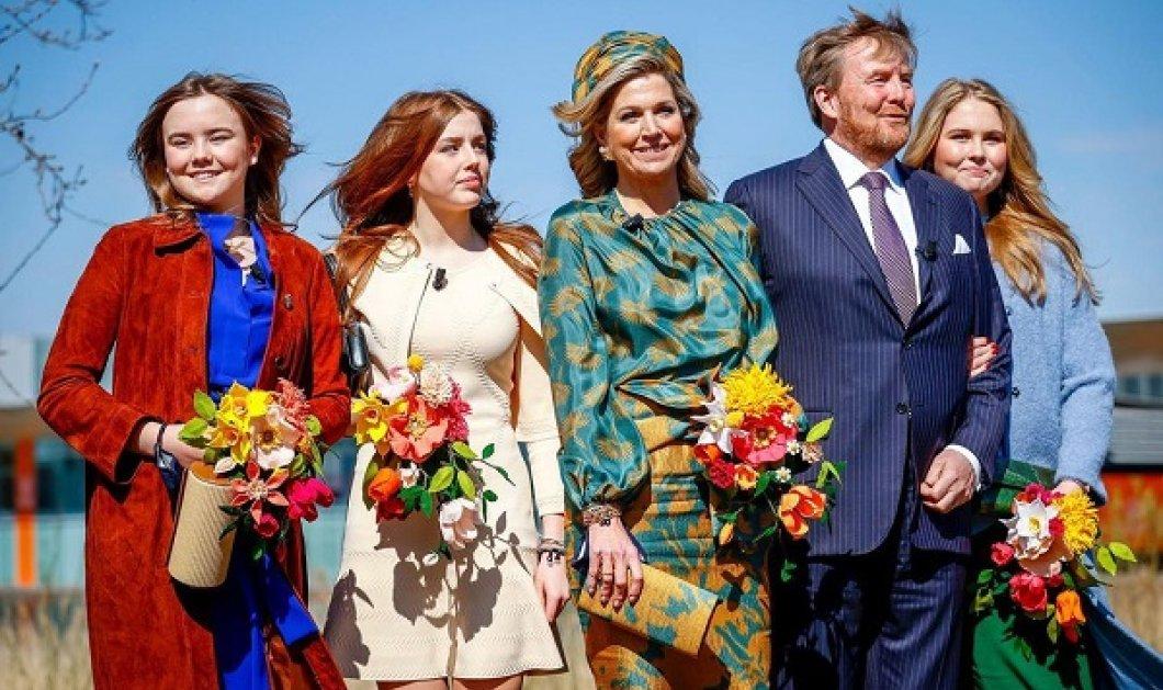 Γιορτές για την βασιλική οικογένεια της Ολλανδίας: Η Μάξιμα έβαλε ασορτί σύνολο με καπέλο και τσάντα - Ομόρφυνε η διάδοχος (φωτό) - Κυρίως Φωτογραφία - Gallery - Video
