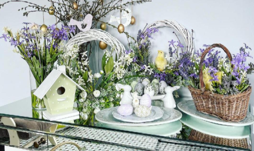 Πάσχα 2021: Διακόσμηση της τελευταίας στιγμής - Πολύχρωμα αυγά, λουλούδια, στεφάνια (φωτό) - Κυρίως Φωτογραφία - Gallery - Video