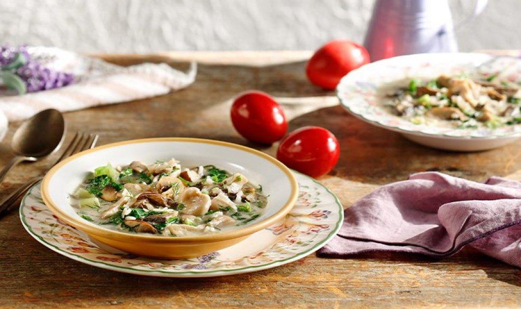 Η Αργυρώ Μπαρμπαρίγου & η τέλεια συνταγή της για μαγειρίτσα - Με μανιτάρια έχετε δοκιμάσει;  - Κυρίως Φωτογραφία - Gallery - Video