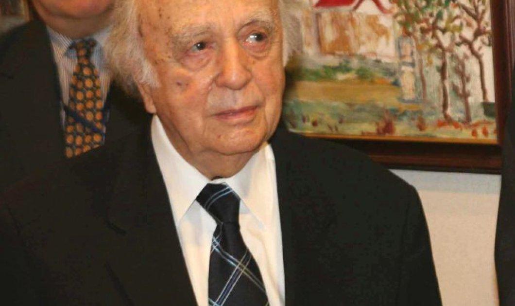 Έφυγε από την ζωή σε ηλικία 101 ετών ο Βάσος Λυσσαρίδης - Ιδρυτής & πρώτος πρόεδρος του κόμματος της Ε.Δ.Ε.Κ - Κυρίως Φωτογραφία - Gallery - Video