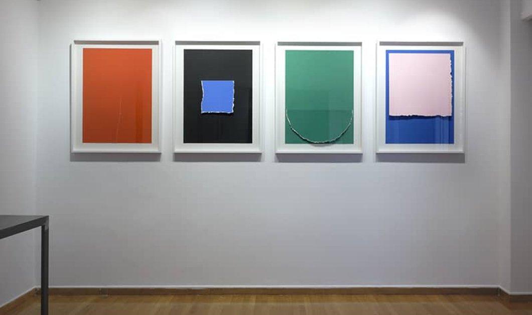 Ο Στήβεν Αντωνάκος με έργα - σταθμούς στην γκαλερί Citronne: Εκθέσεις - ατομικές εκθέσεις - γλυπτική - χαρακτική - εγκατάσταση - ζωγραφική (φωτό) - Κυρίως Φωτογραφία - Gallery - Video