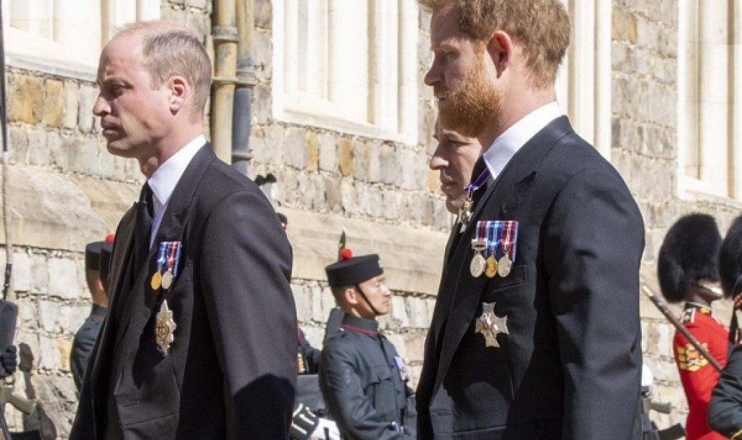 Η κηδεία του πρίγκιπα Φίλιππου έφερε ξανά κοντά τον Harry και τον William - Είχαν να βρεθούν πάνω από ένα χρόνο (φωτό & βίντεο) - Κυρίως Φωτογραφία - Gallery - Video