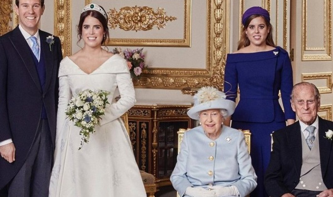 Η πριγκίπισσα Ευγενία αποχαιρετά τον πρίγκιπα Φίλιππο: Οι φωτό με τον παππού & τα τρυφερά λόγια - «Θα προσέχουμε την γιαγιά για σένα» - Κυρίως Φωτογραφία - Gallery - Video